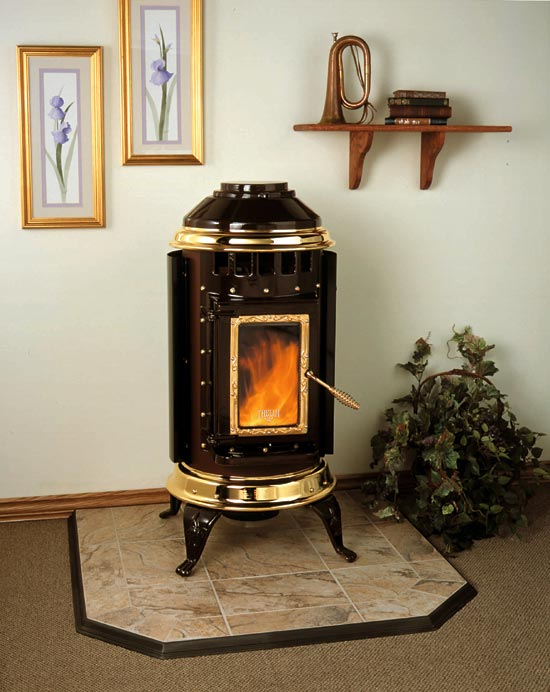 Thelin Stoves Parlour 3000 Pellet Heater Chimney