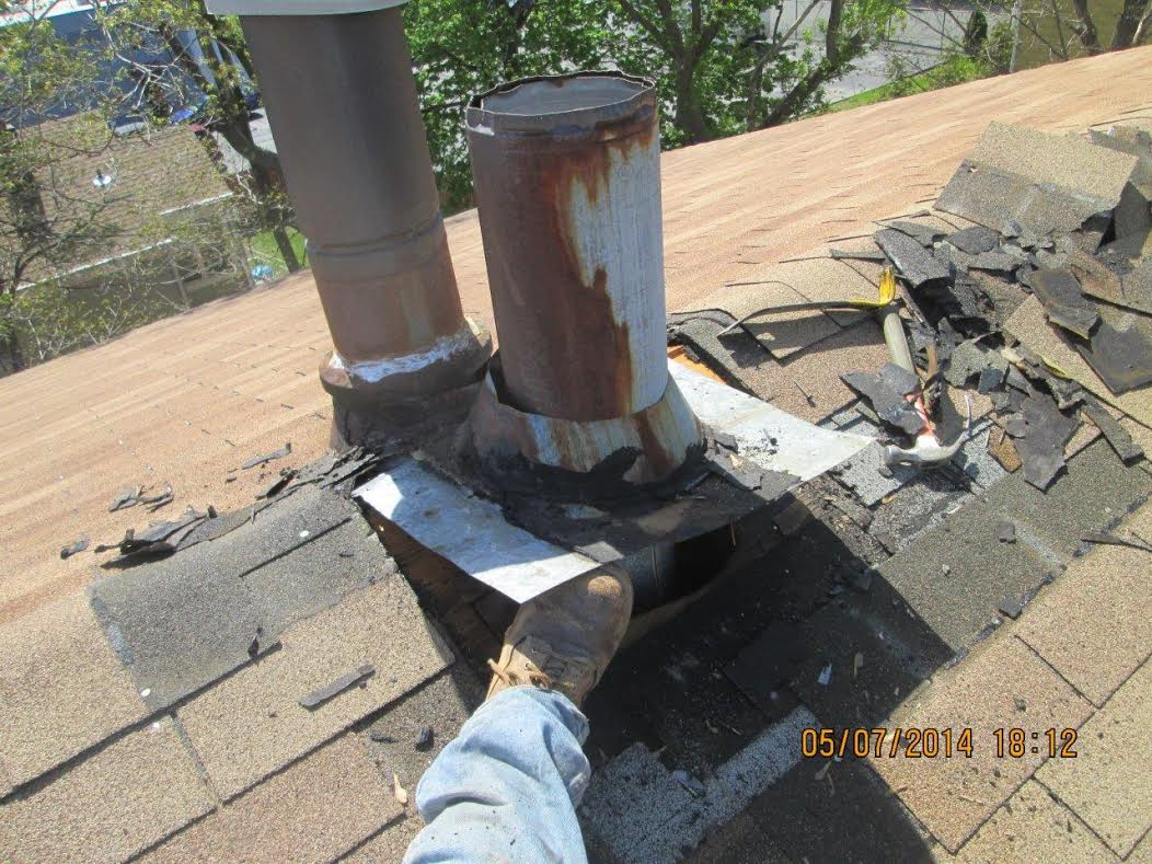 Stratford Home Replaces Metal Chimney Chimney Sweeping