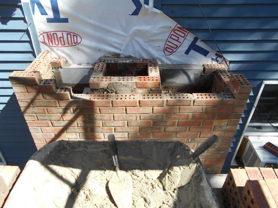 Ground Up Chimney Rebuild In Norwich Chimney Sweeping