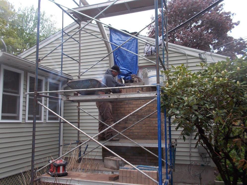 Tolland Custom Brick Chimney Rebuild Chimney Sweeping