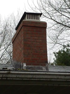 East Hartford chimney rebuild