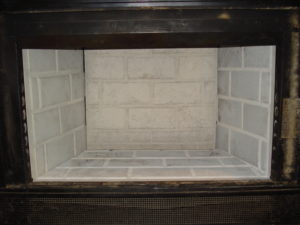 fireplace firebrick panels. The metal firebox is lined with refractory panels that look like masonry  These are manufactured high thermal properties generally 1 2 in Replacing Pre Fab Fireplace Panels Chimney Sweeping and